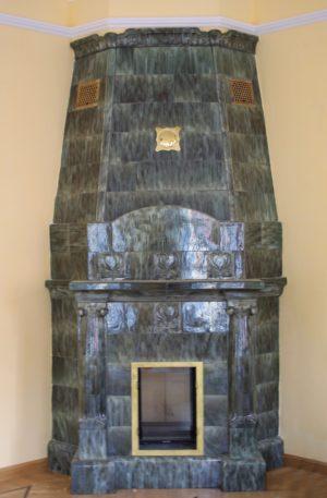 Реставрация камина на Тимура Фрунзе