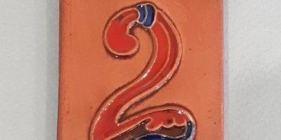 цифра 2 в керамике